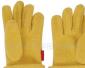 供应黄色摇粒绒手套